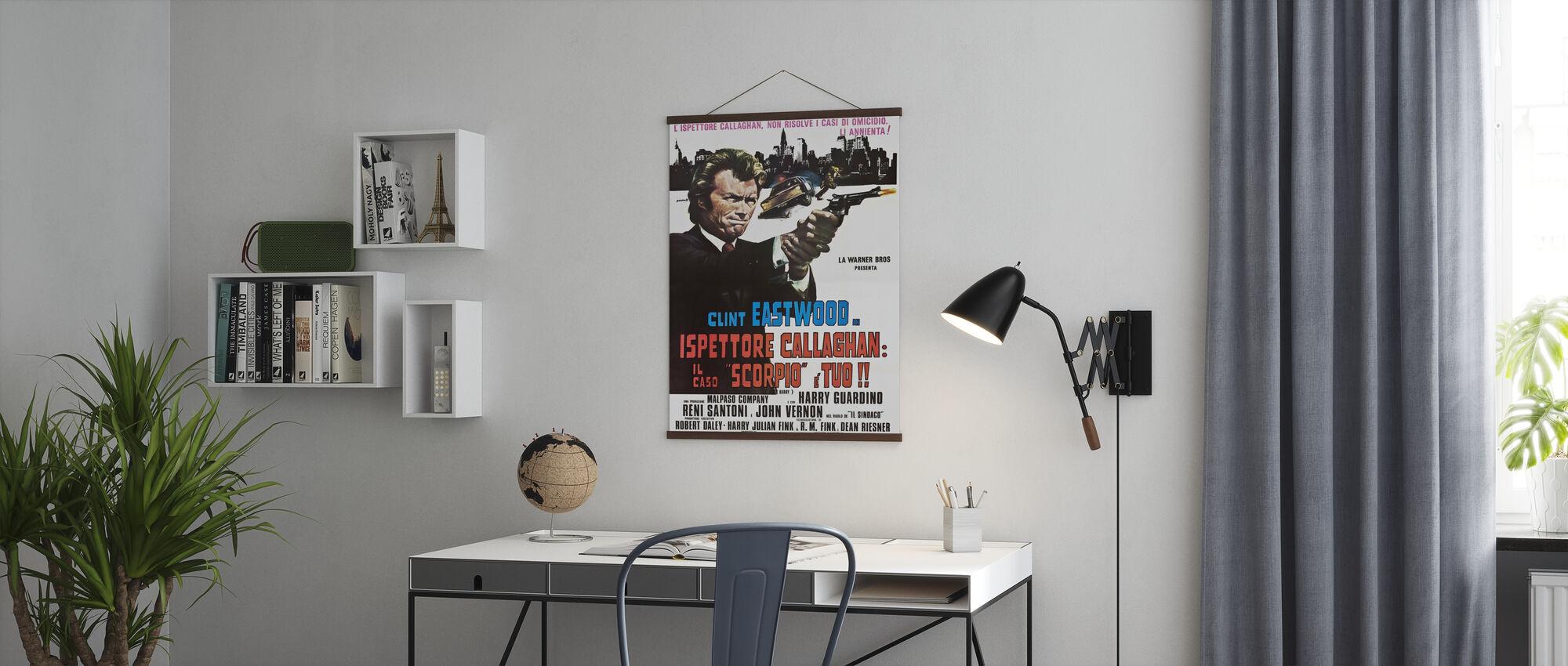 Vuile Harry - Poster - Kantoor