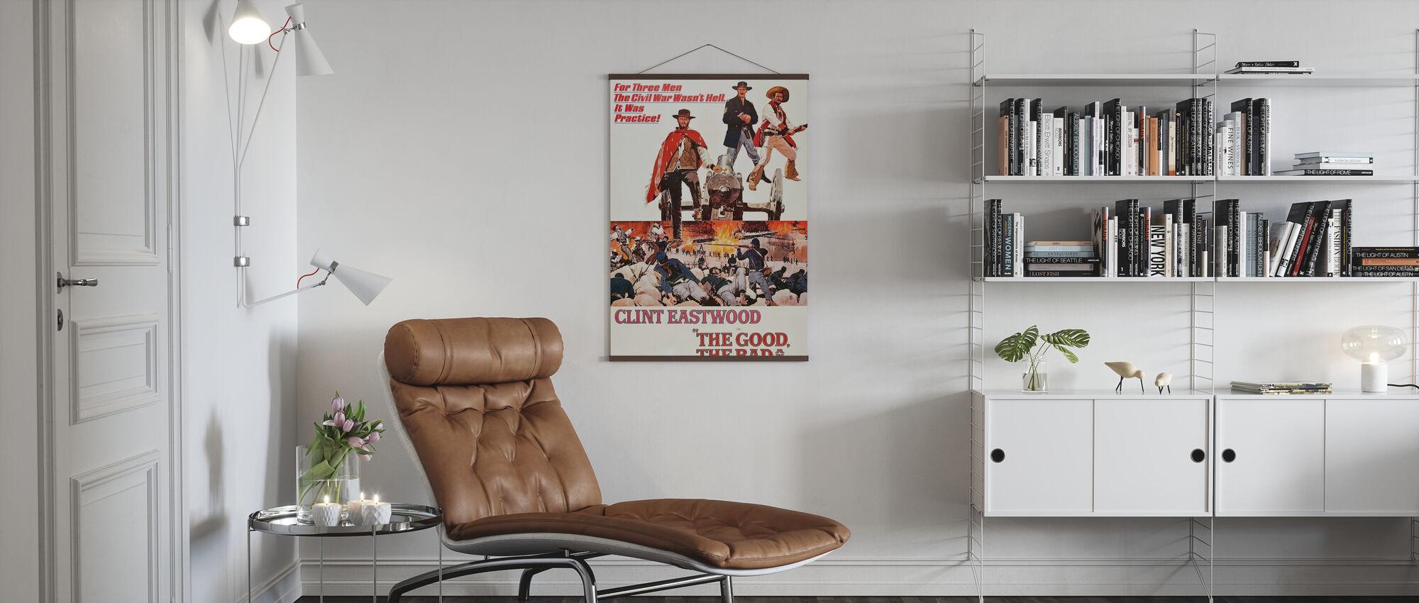 Goed slecht en lelijk - Poster - Woonkamer