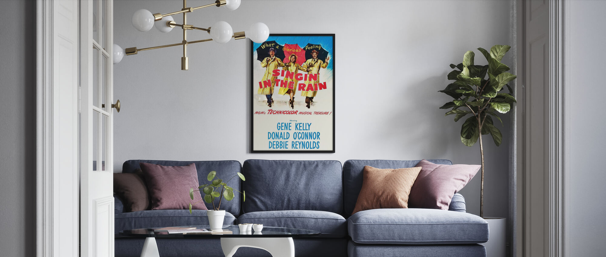 Singing in the Rain - Poster - Living Room