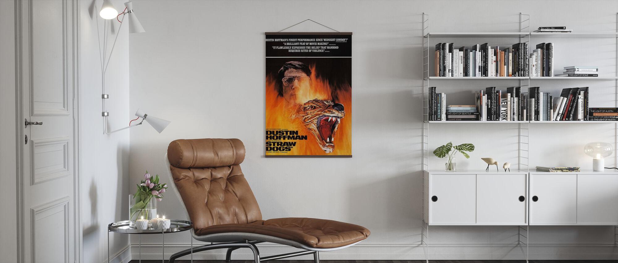 Stro Honden - Poster - Woonkamer