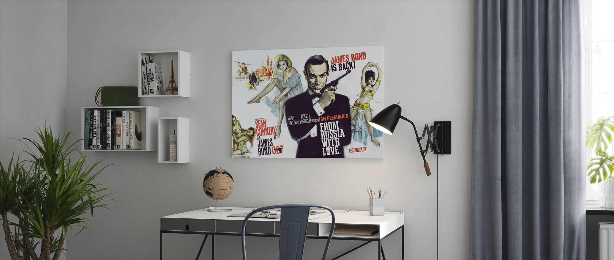 From Russia with Love - Canvas print - Office