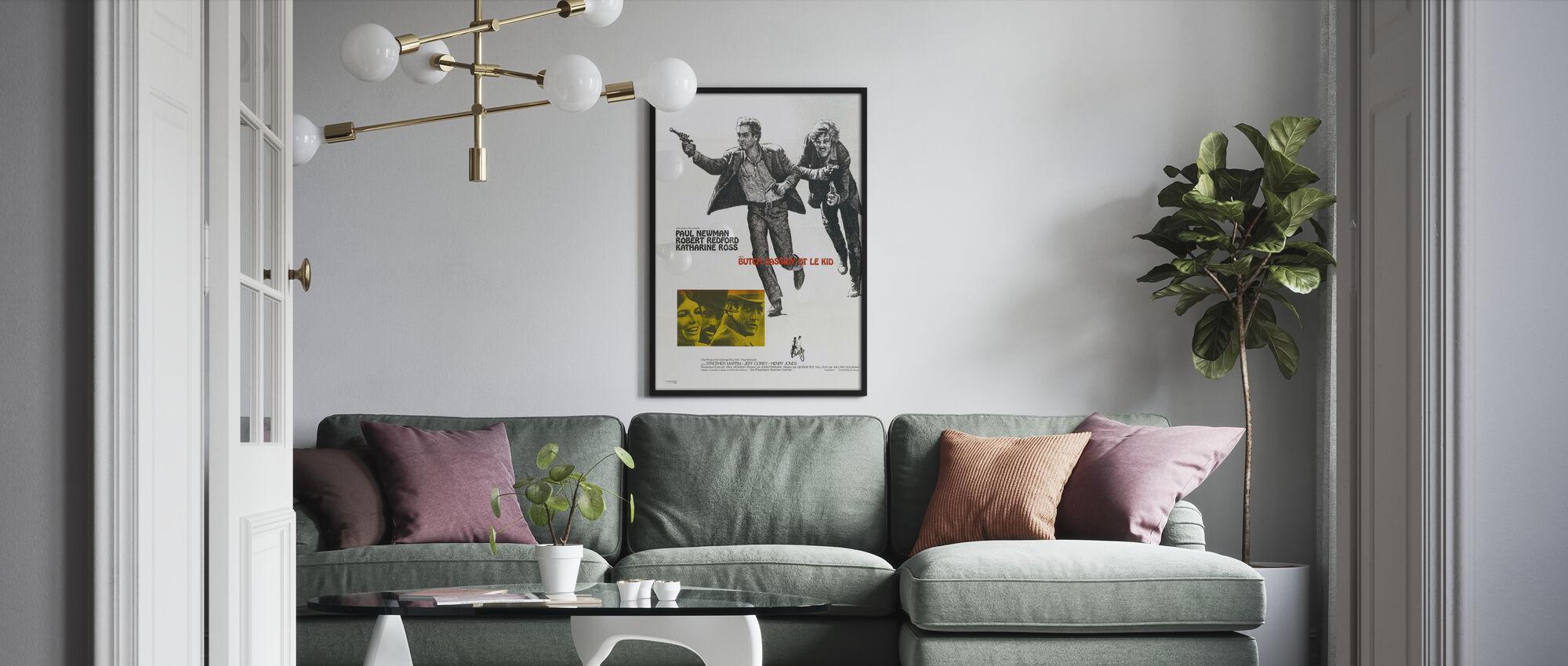Butch Cassidy en de Sundance Kid III - Poster - Woonkamer