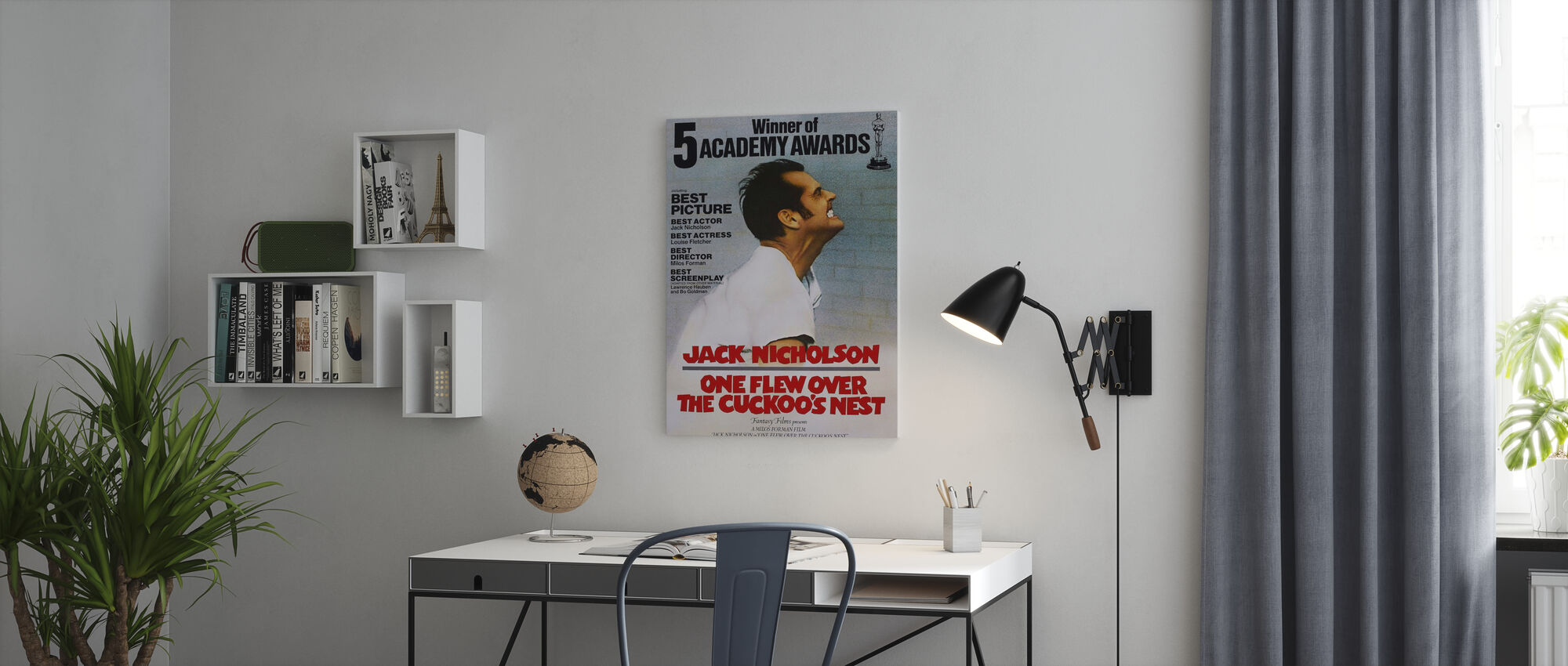One Flew Over the Cuckoos Nest - Canvas print - Office