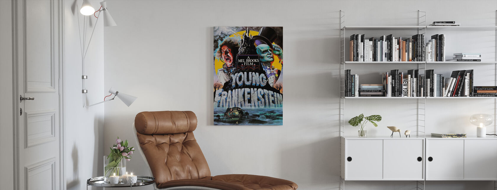 Young Frankenstein - Canvas print - Living Room