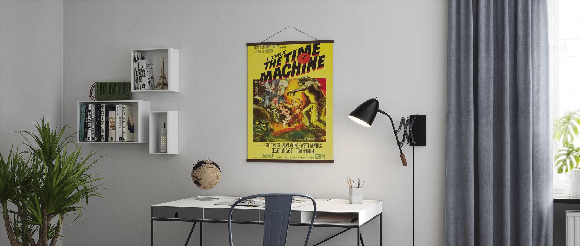 Tijd Machine - Poster - Kantoor