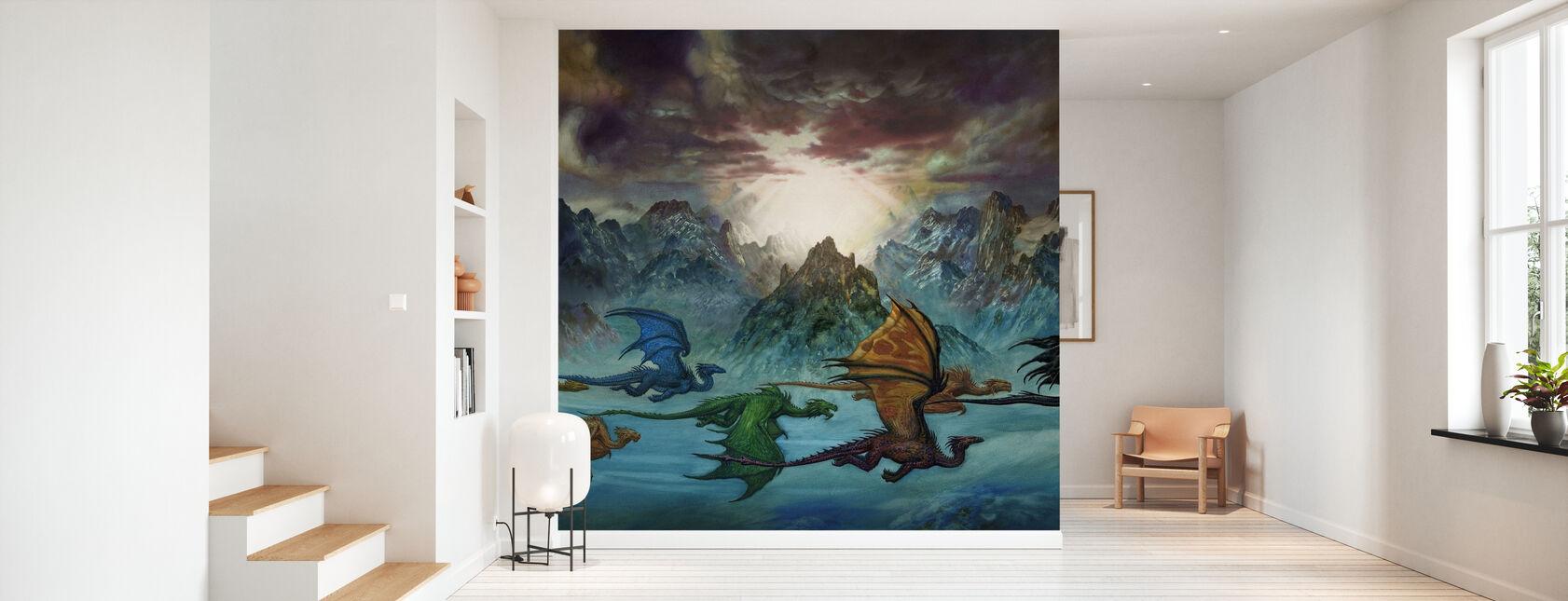 Mount - Wallpaper - Hallway