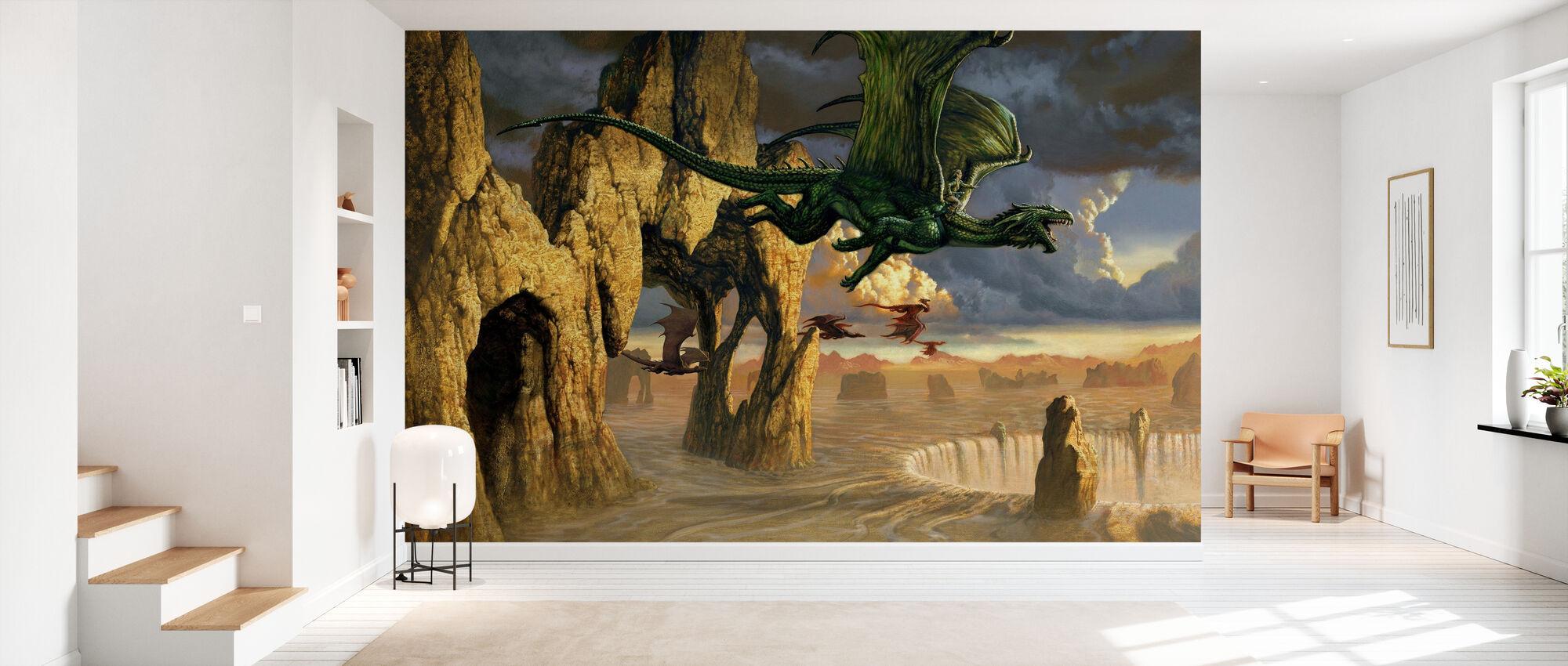 Exodux - Wallpaper - Hallway