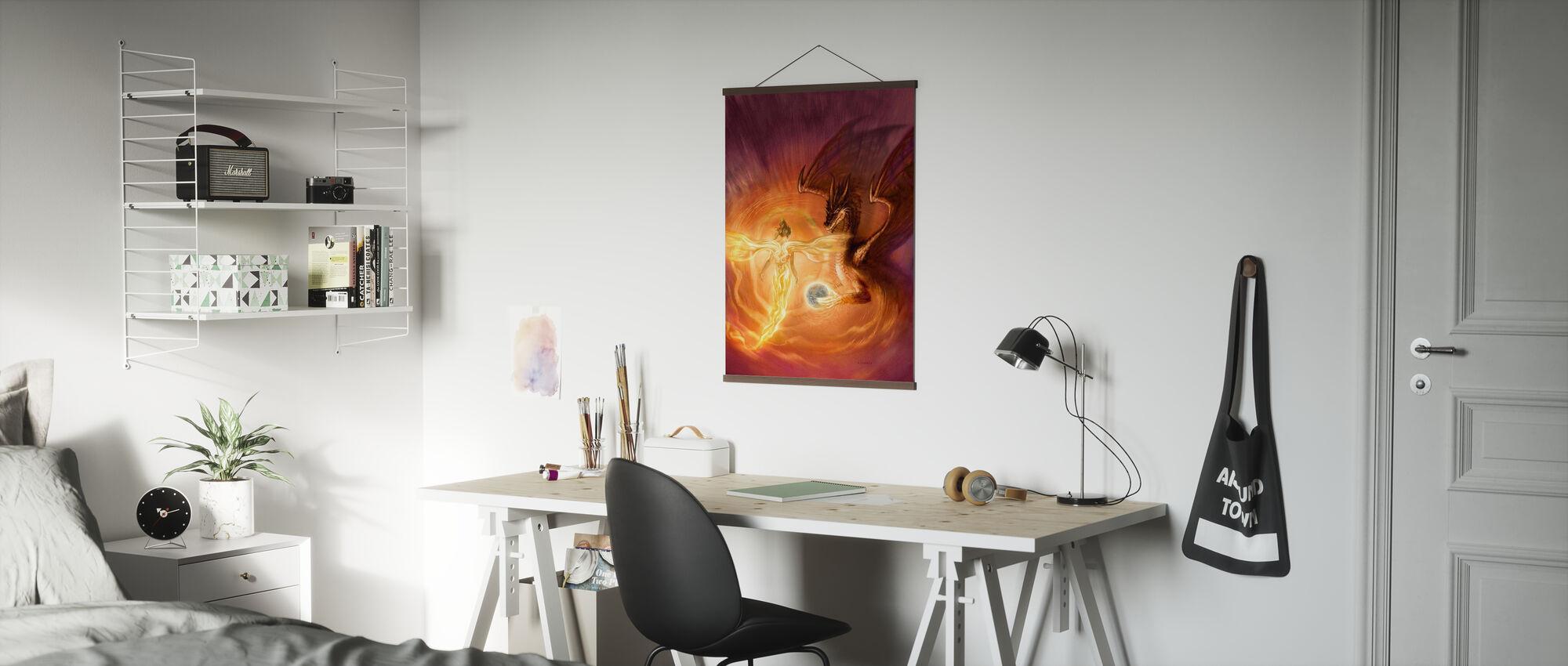 Engel - Poster - Büro