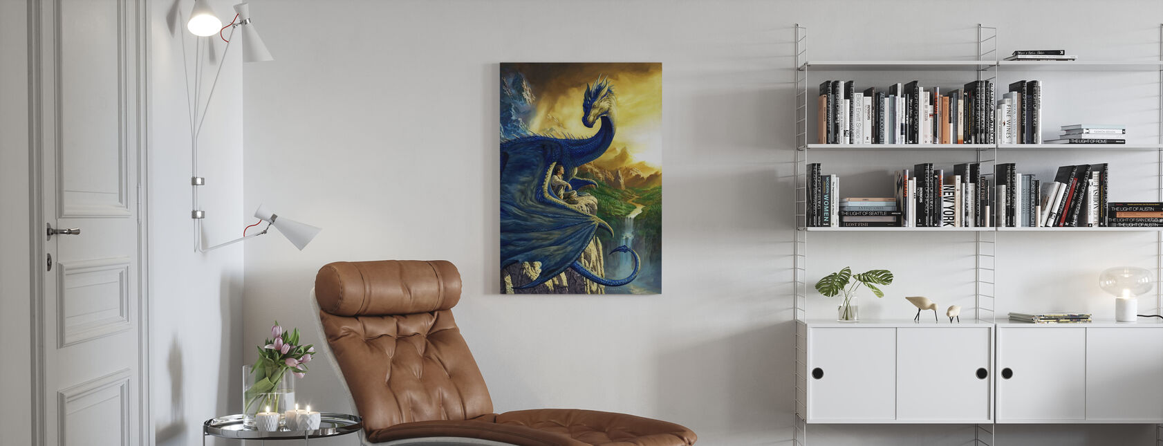 Eragon - Canvas print - Living Room