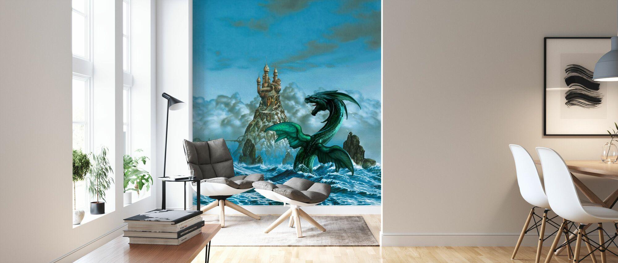 Dragon Mar - Wallpaper - Living Room