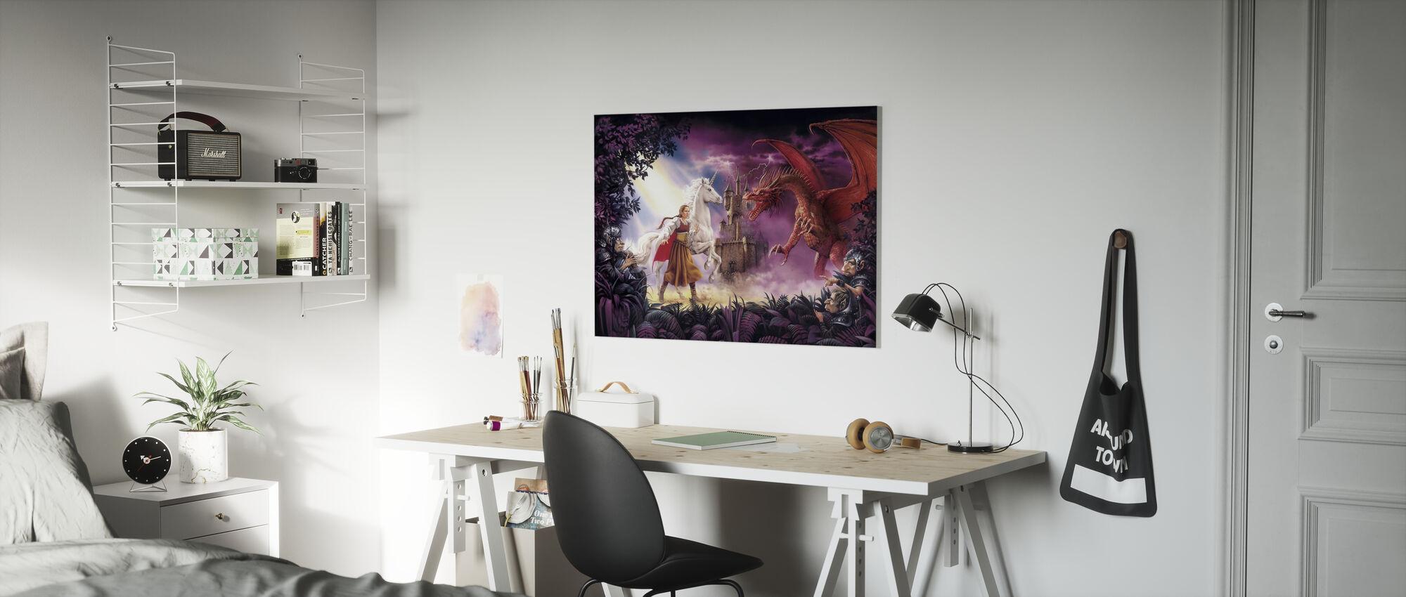Enchanted - Canvas print - Kids Room