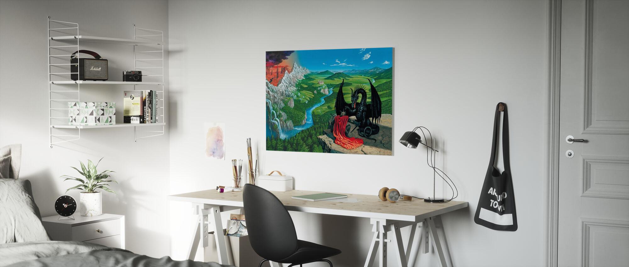 Watershed - Canvas print - Kids Room