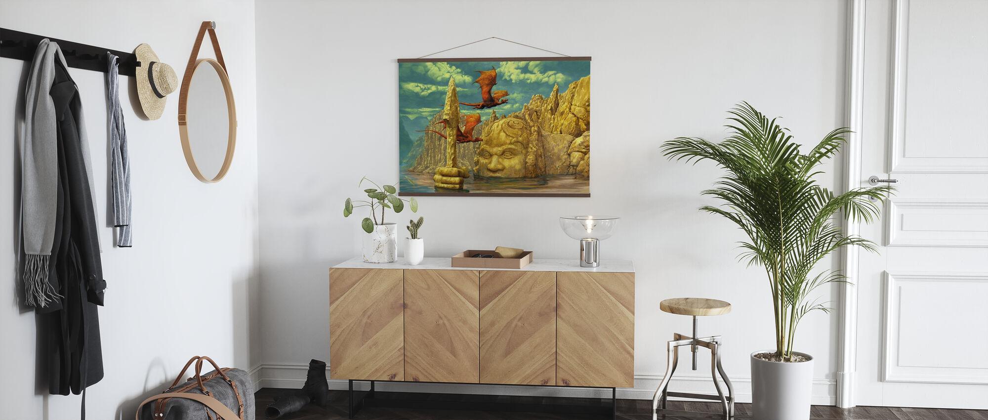 Lake Temple - Poster - Hallway