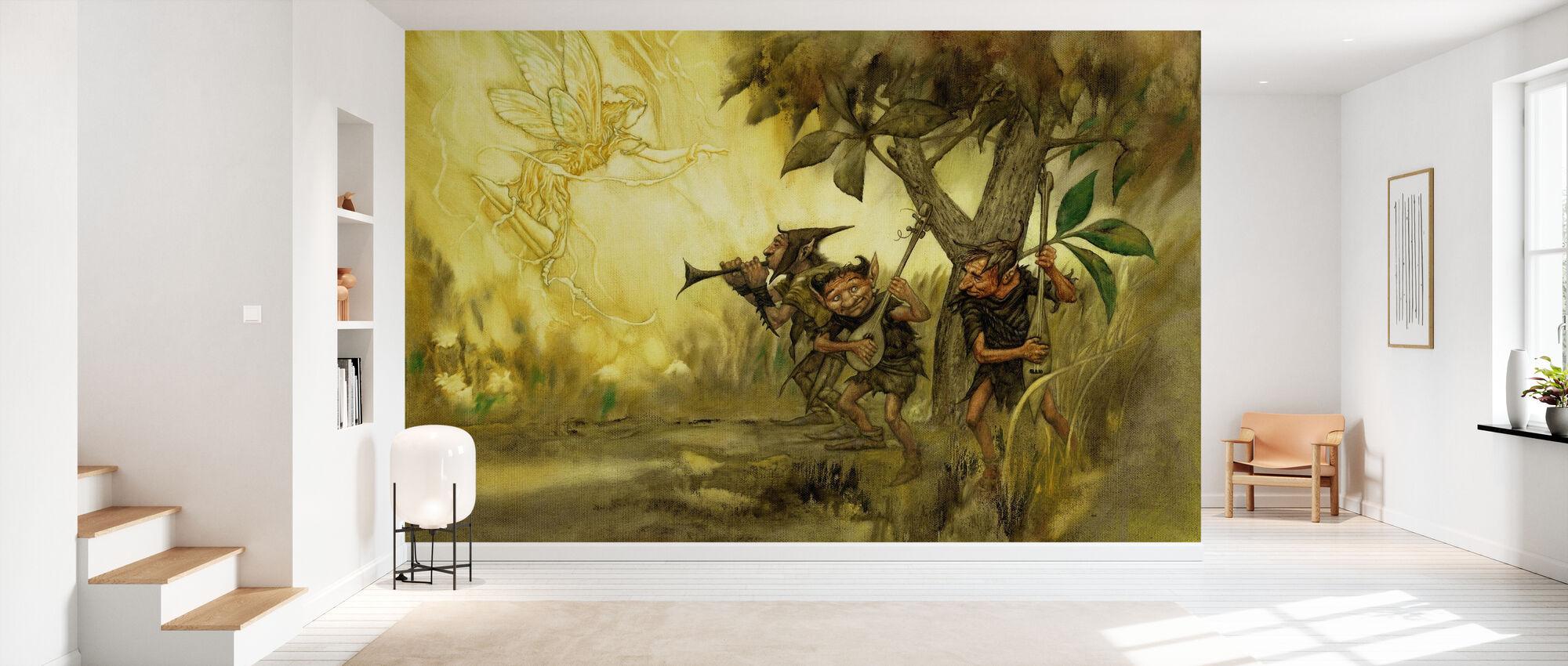 Duendes - Wallpaper - Hallway