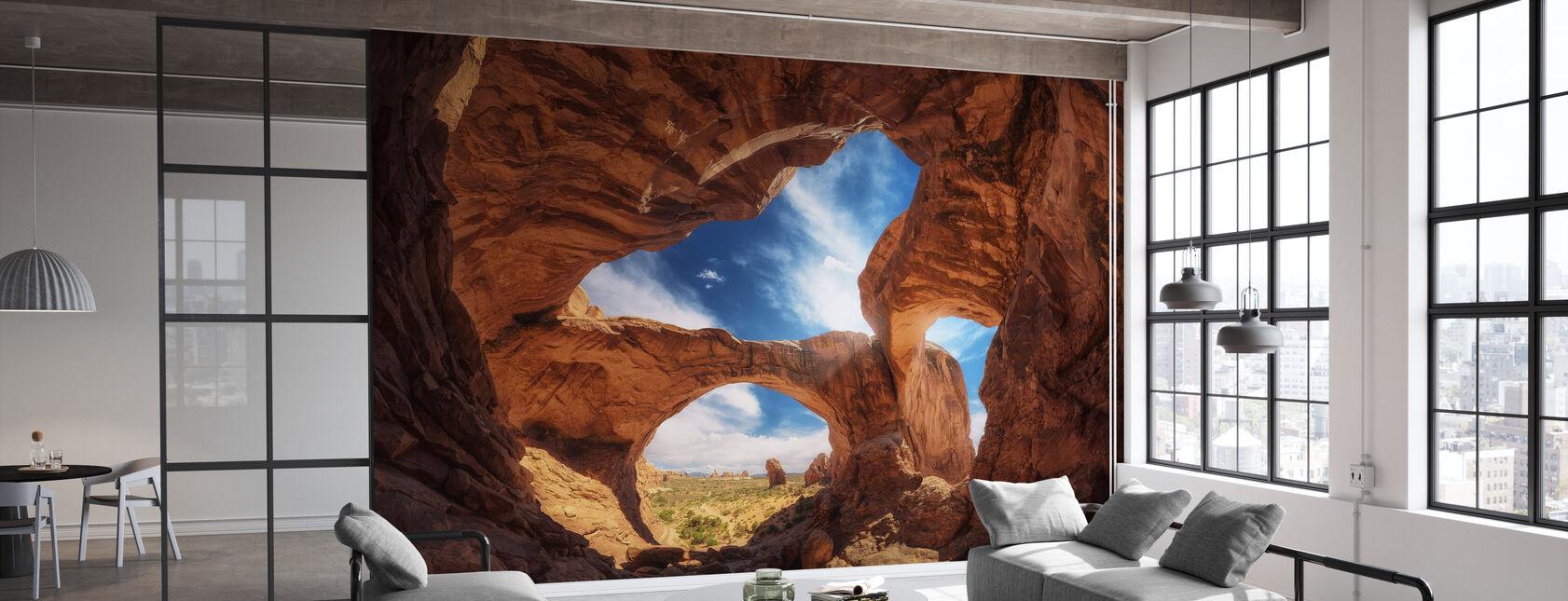 Dobbelt Arch - Tapet - Kontor