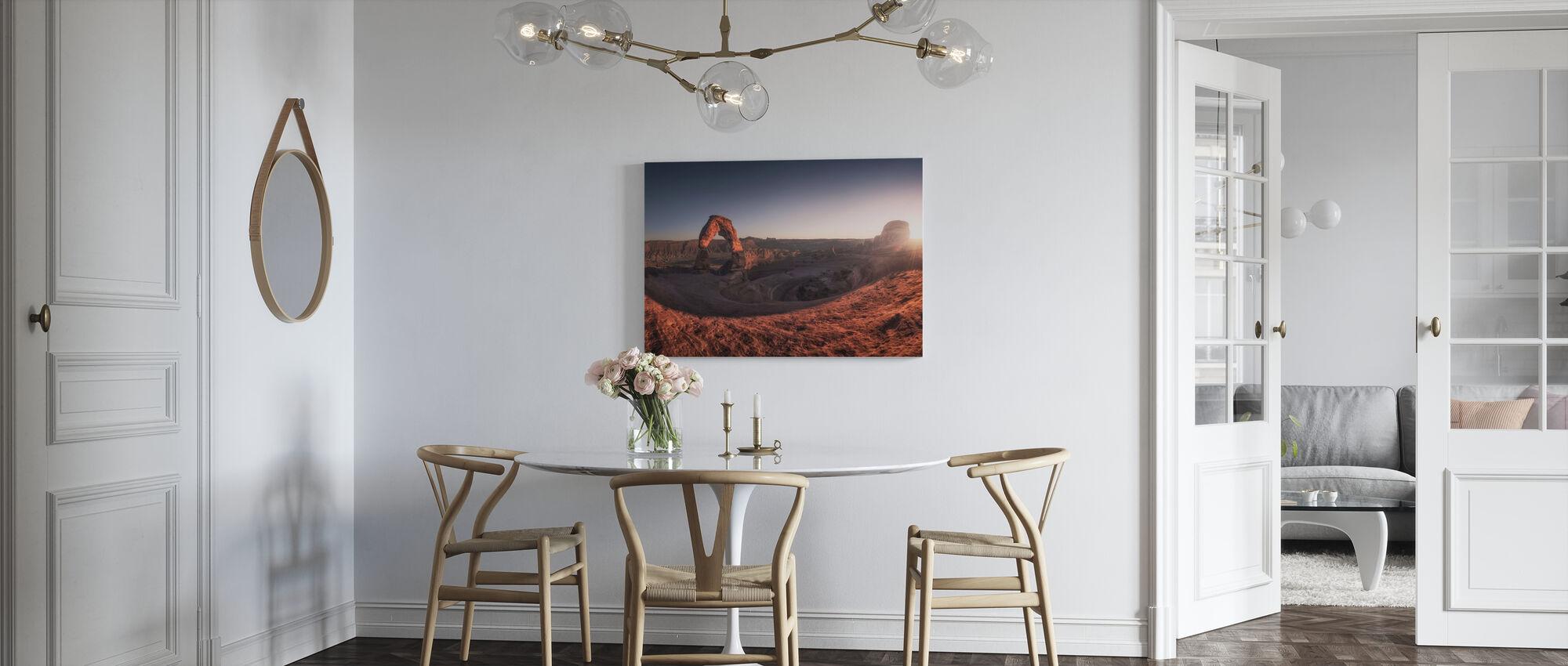 Delicate Light - Canvas print - Kitchen