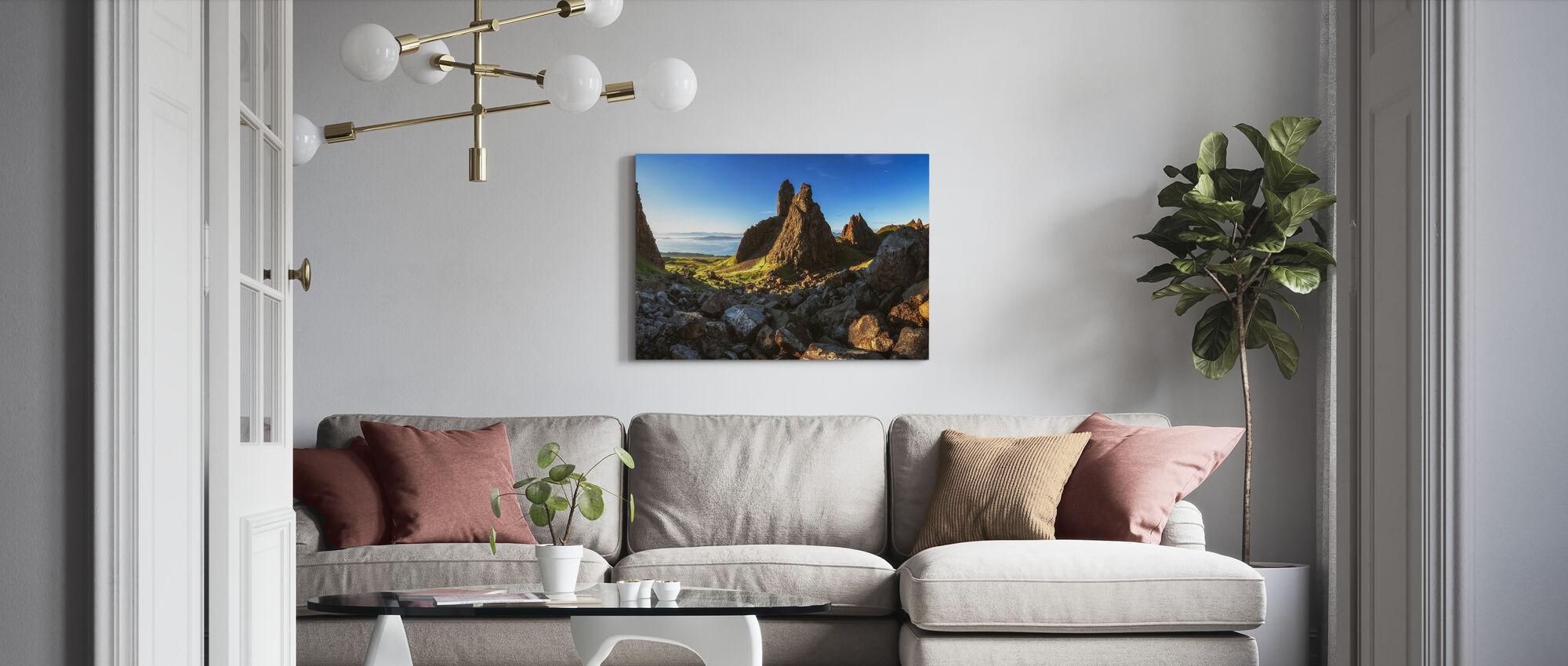 Old Man Storr - Canvas print - Living Room