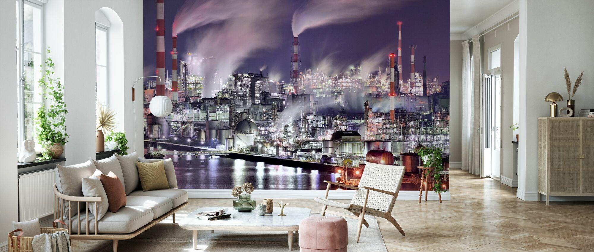 It's a Steam World - Wallpaper - Living Room