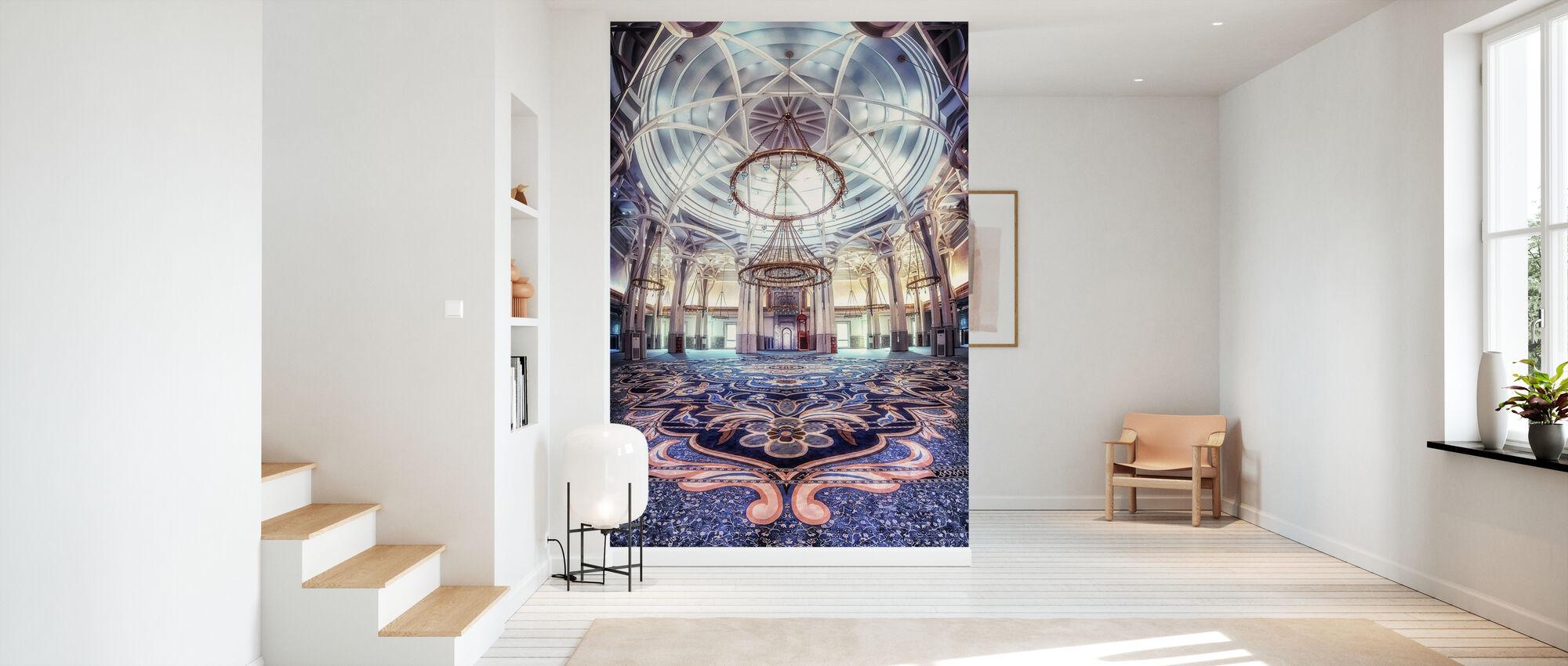 Rome Great Mosque - Wallpaper - Hallway