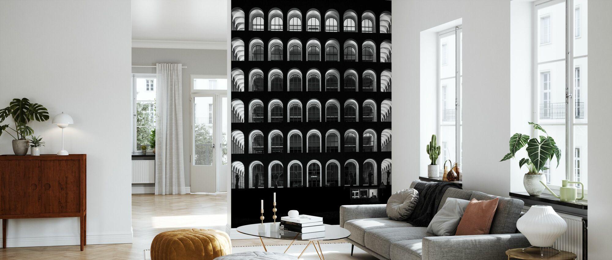 Palazzo Della Civilta Italiana - Wallpaper - Living Room