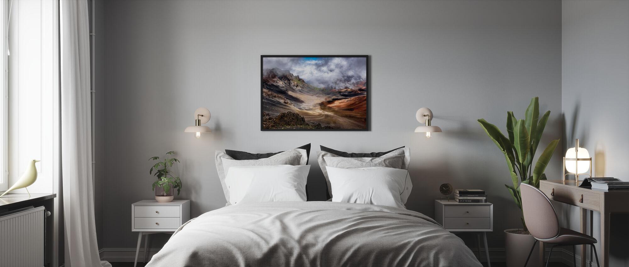 Kraters Rand - Ingelijste print - Slaapkamer