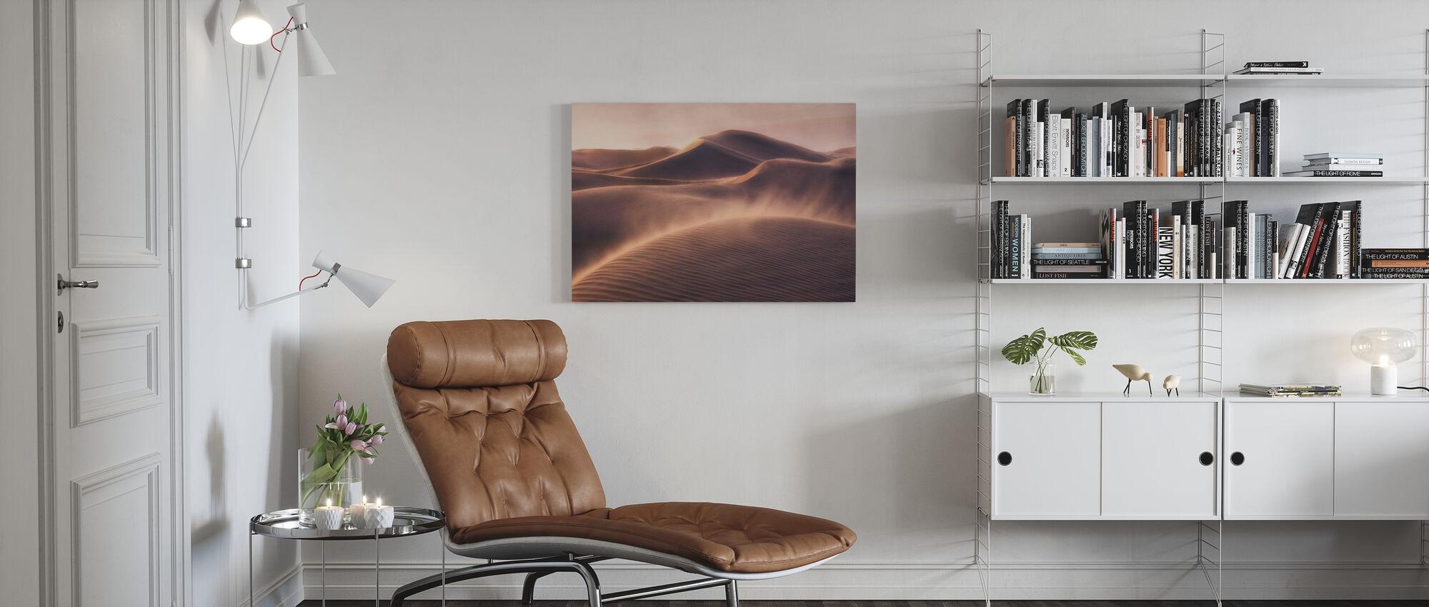 Sand vind - Lerretsbilde - Stue