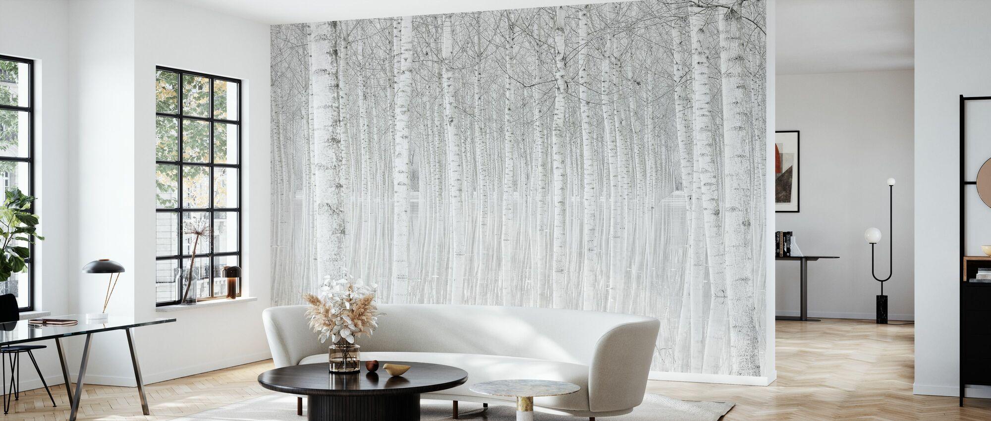 Trees - Wallpaper - Living Room