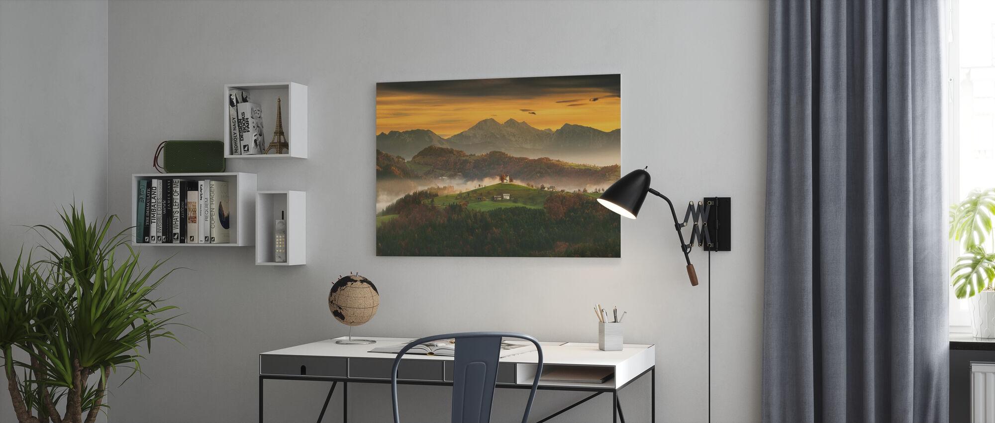Church - Canvas print - Office