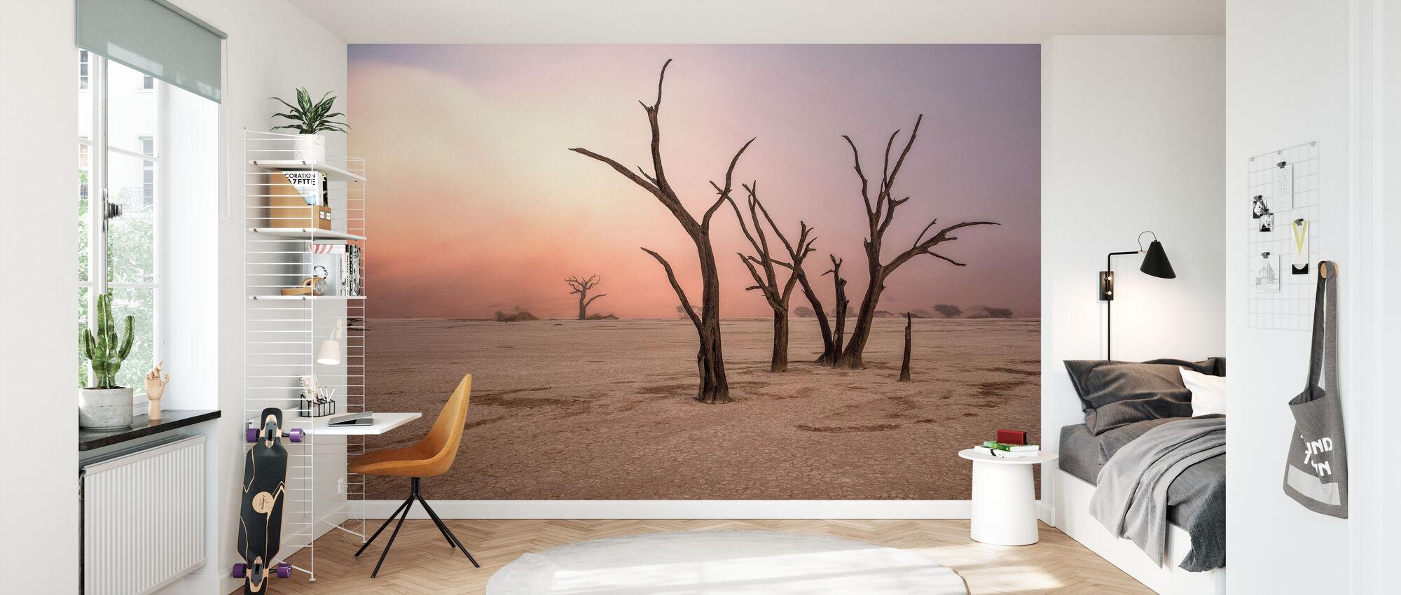 Fog in Deadvlei - Wallpaper - Kids Room