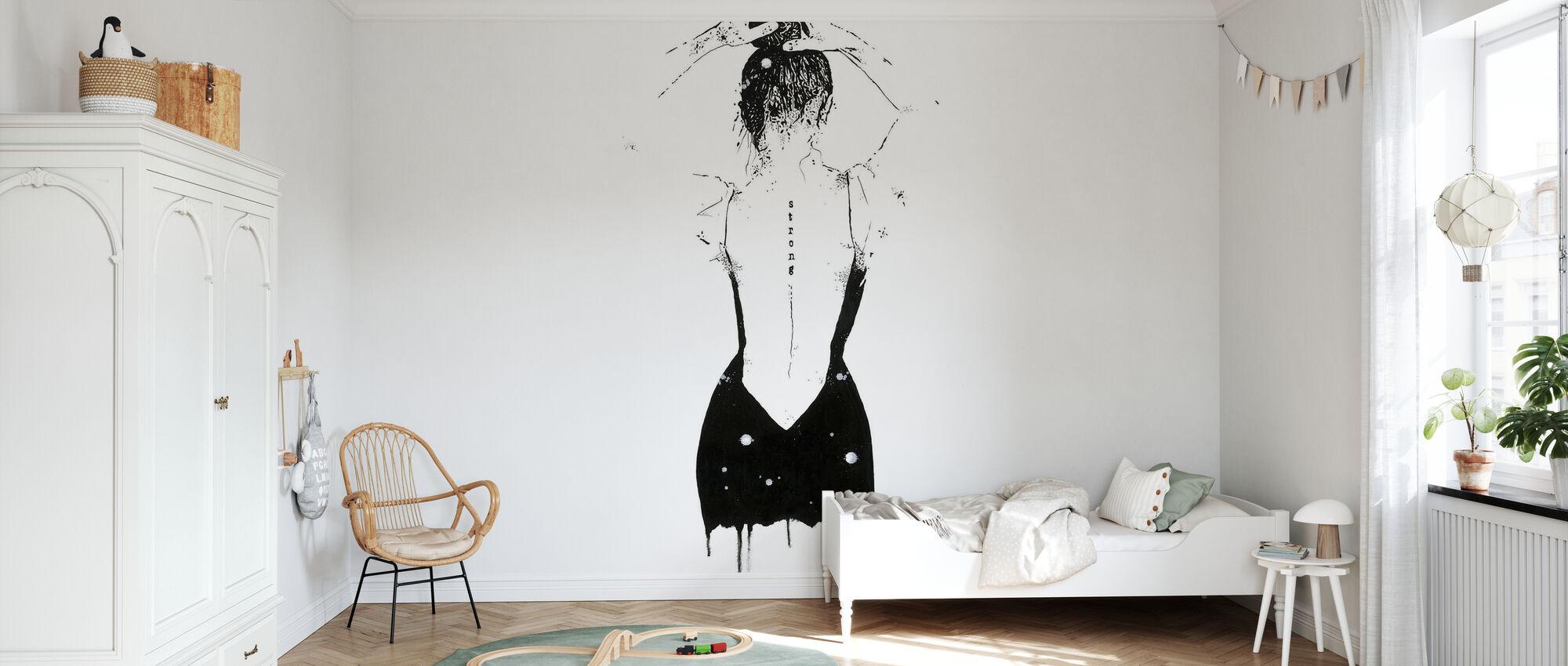 Achiever - Wallpaper - Kids Room