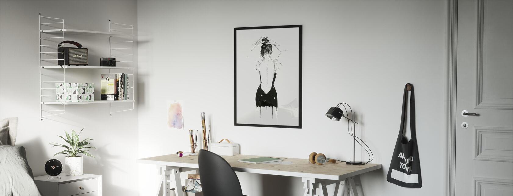 Achiever - Ingelijste print - Kinderkamer
