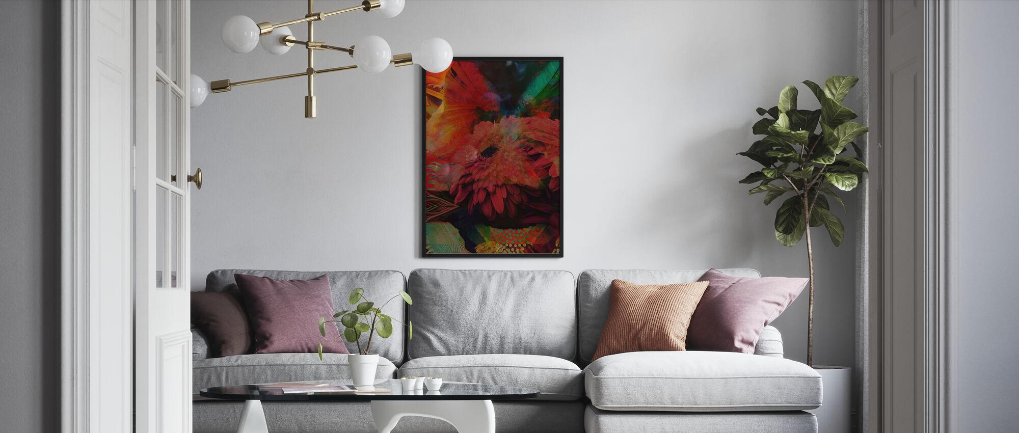 Botany - Framed print - Living Room