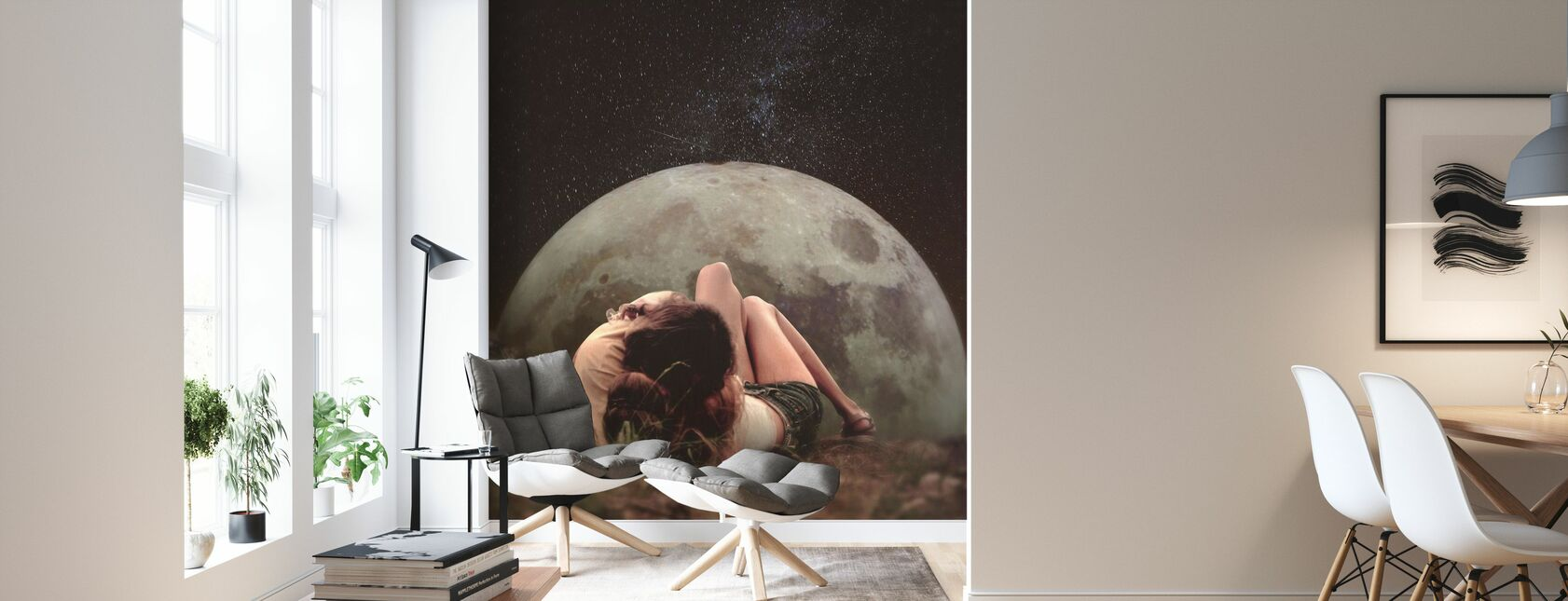 Cosmic Love - Wallpaper - Living Room