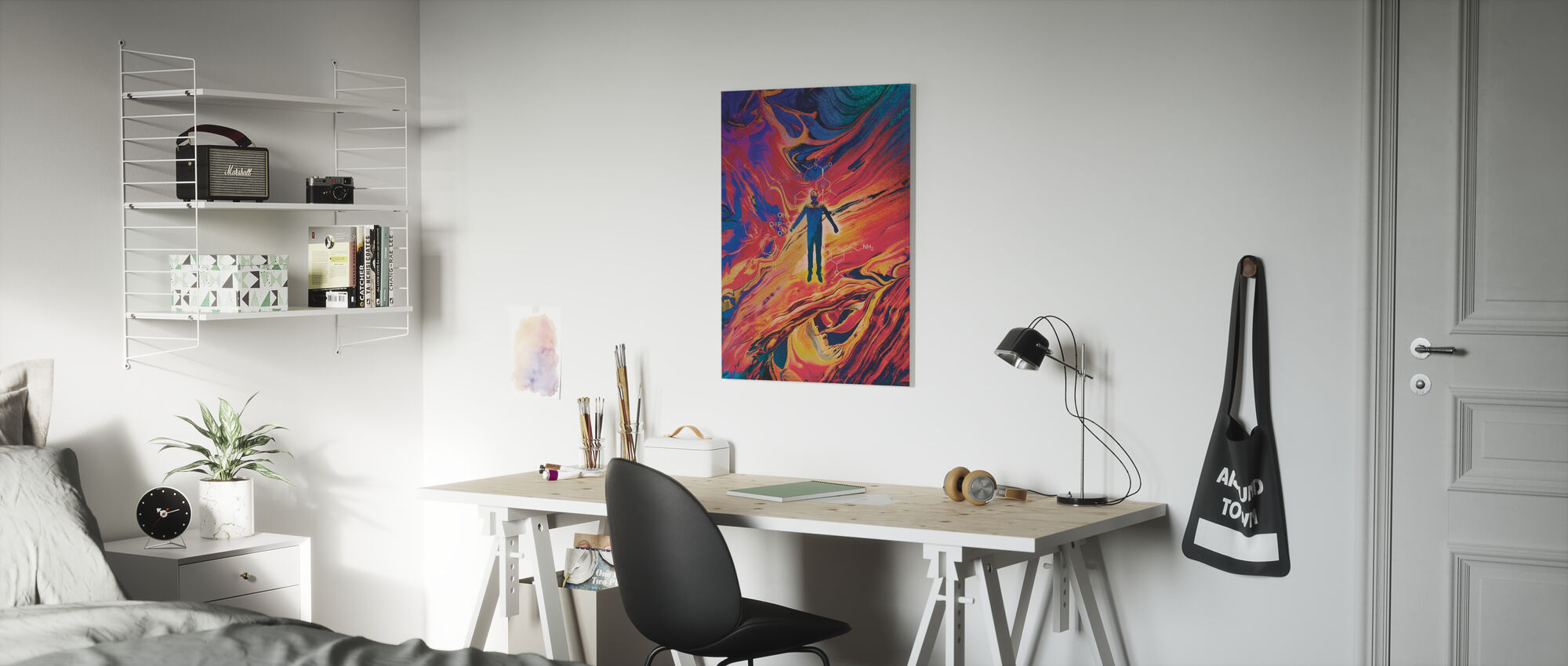 Doors of Perception Only - Canvas print - Kids Room
