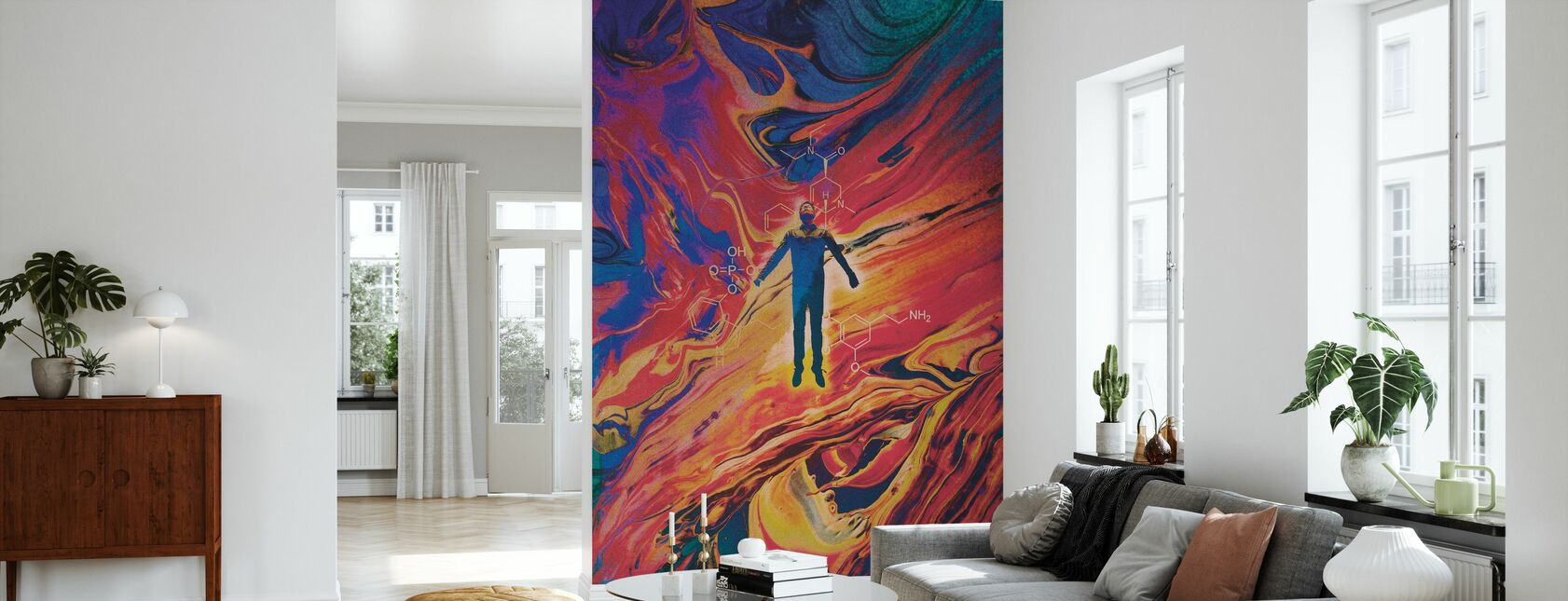 Doors of Perception Only - Wallpaper - Living Room