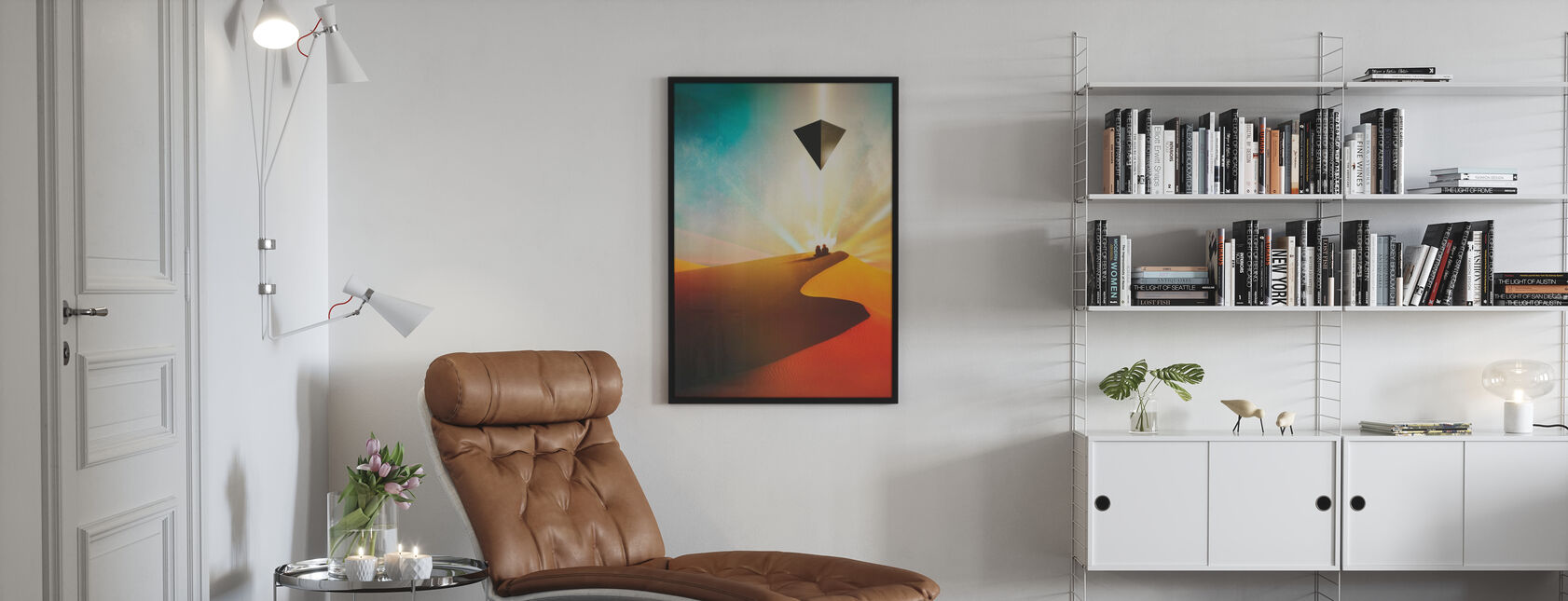 Dune - Inramad tavla - Vardagsrum