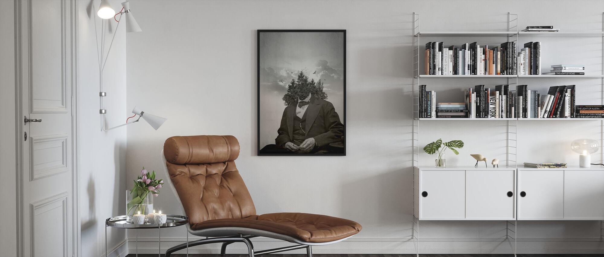 Wald - Poster - Wohnzimmer