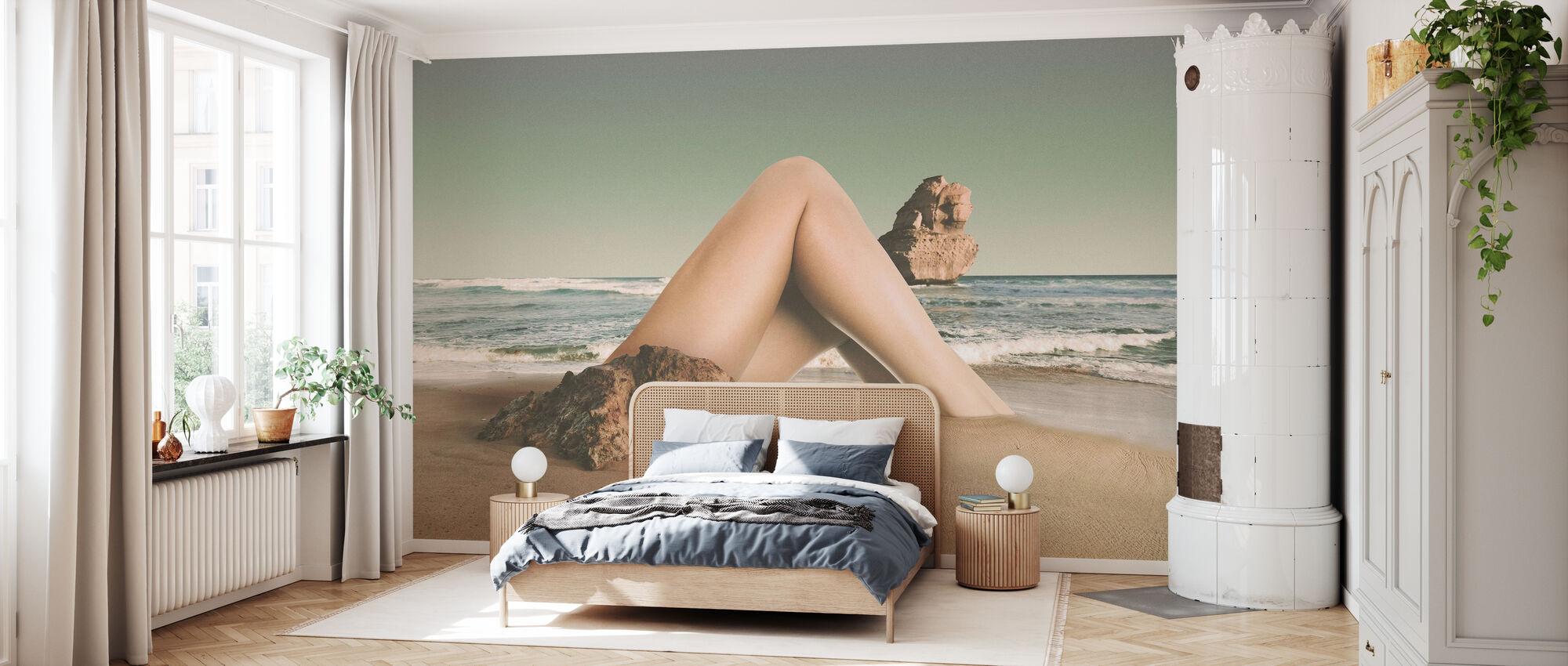 Leg - Wallpaper - Bedroom