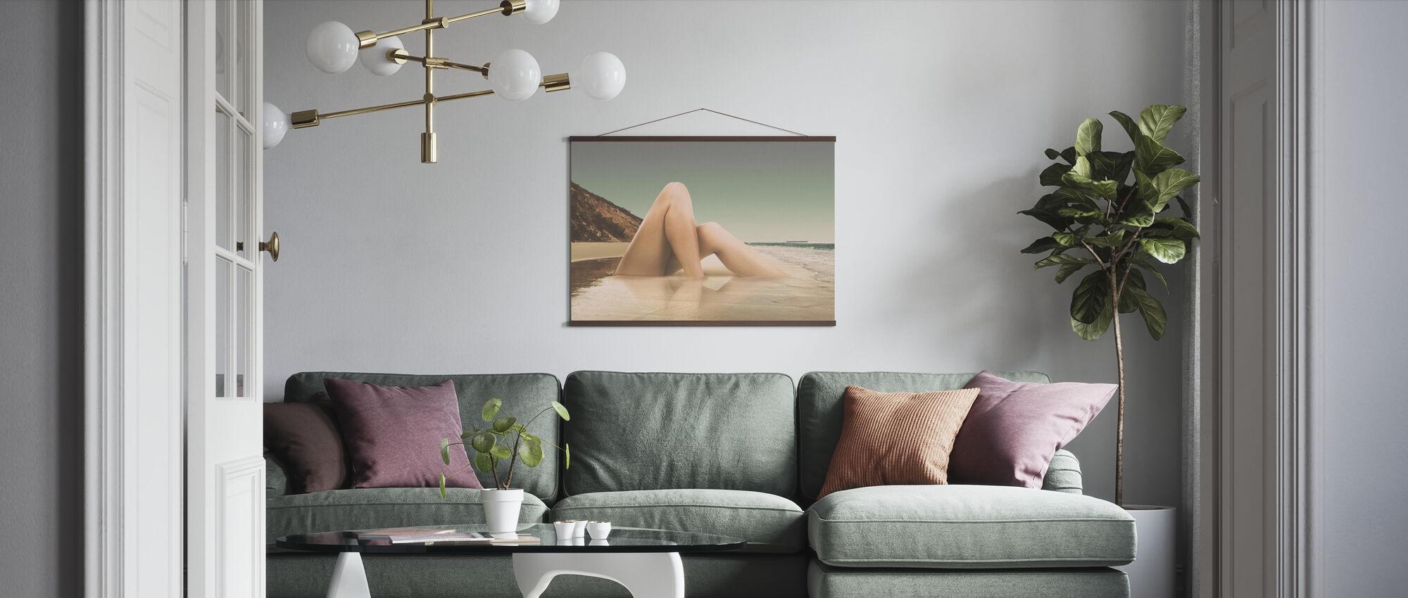 Bein2 - Poster - Wohnzimmer