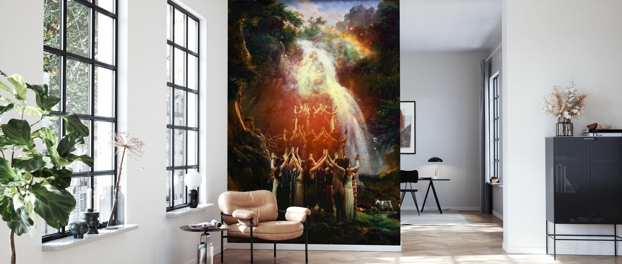 New World Order - Wallpaper - Living Room