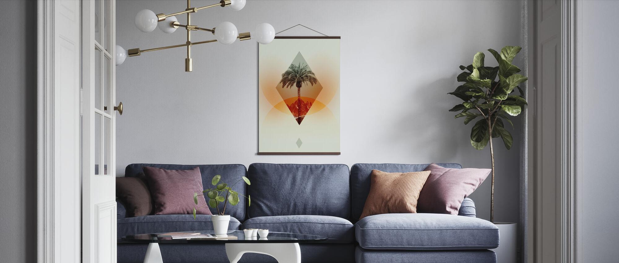 Handfläche - Poster - Wohnzimmer
