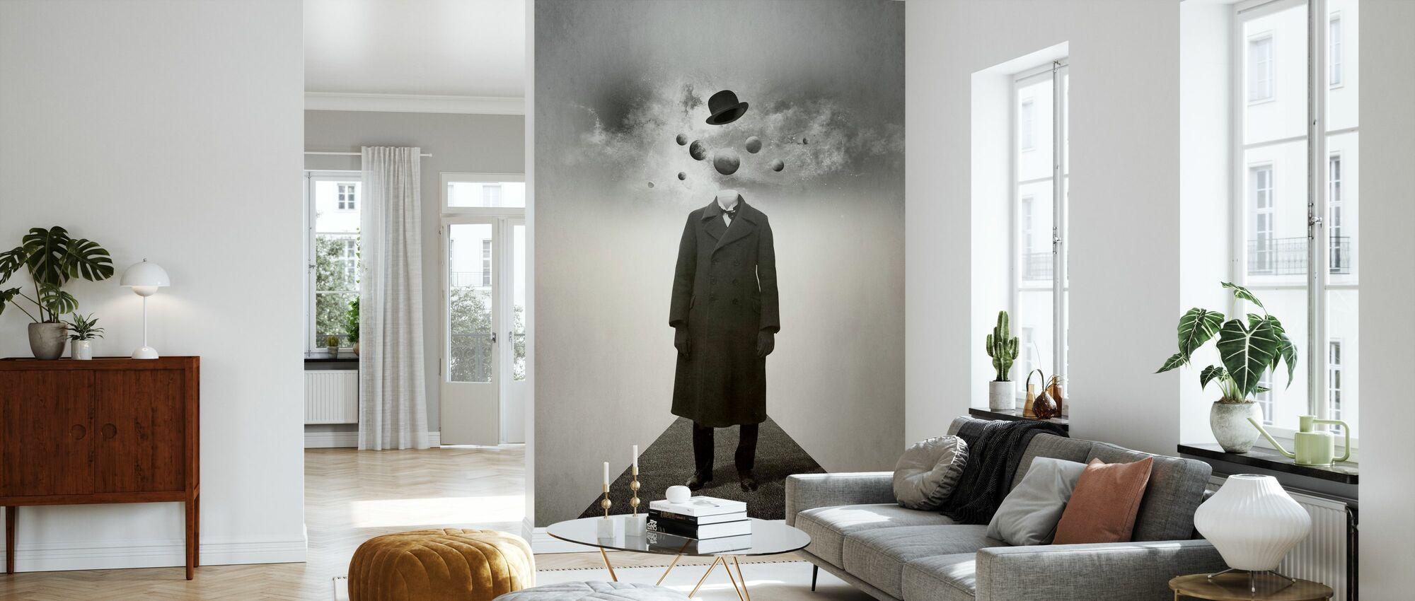 Planets - Wallpaper - Living Room