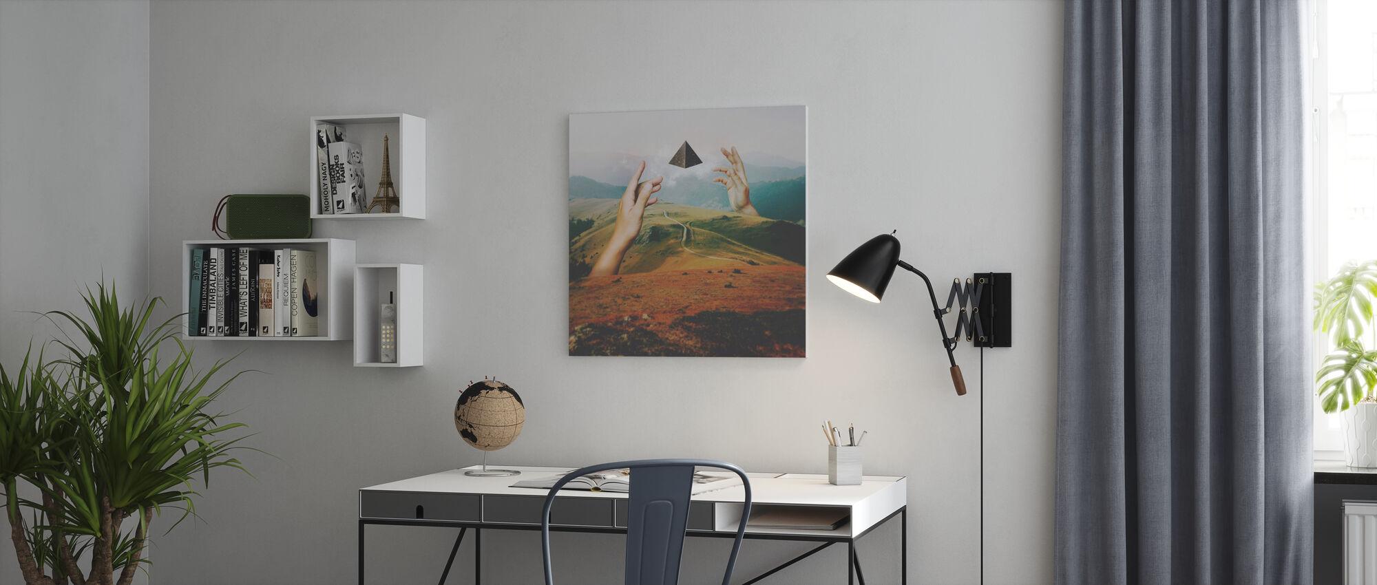 Portalen - Canvastavla - Kontor