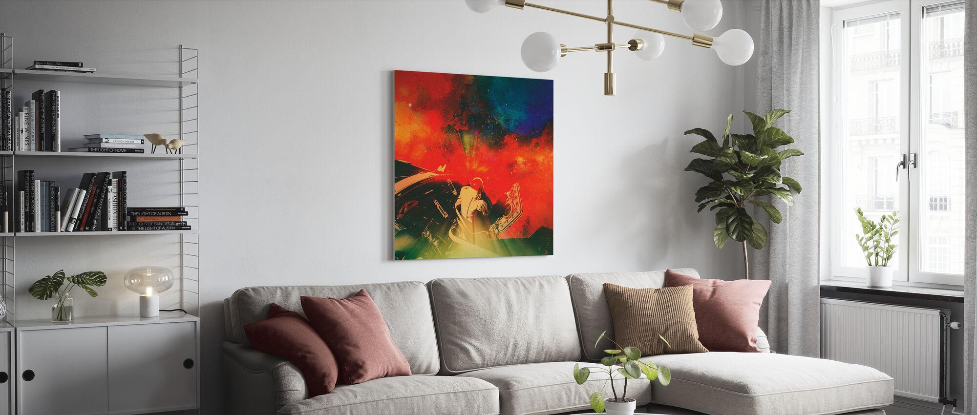 Psychonaut - Canvas print - Living Room