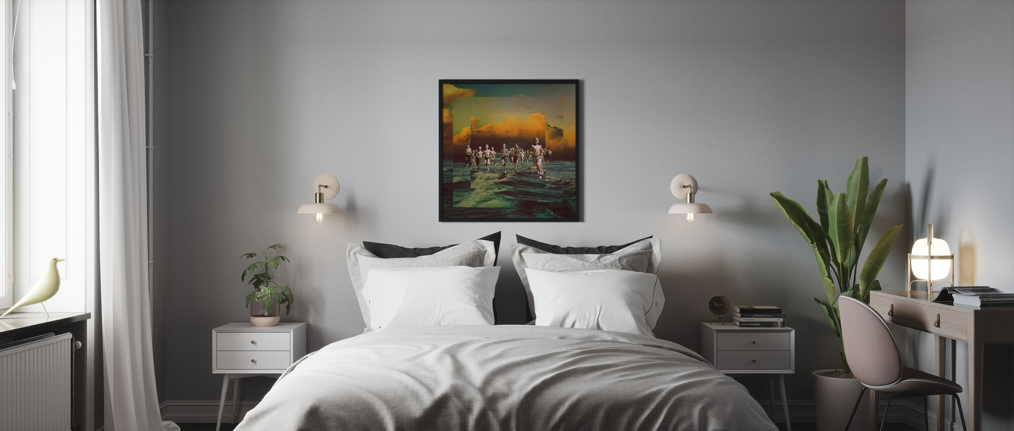 Runaway - Framed print - Bedroom