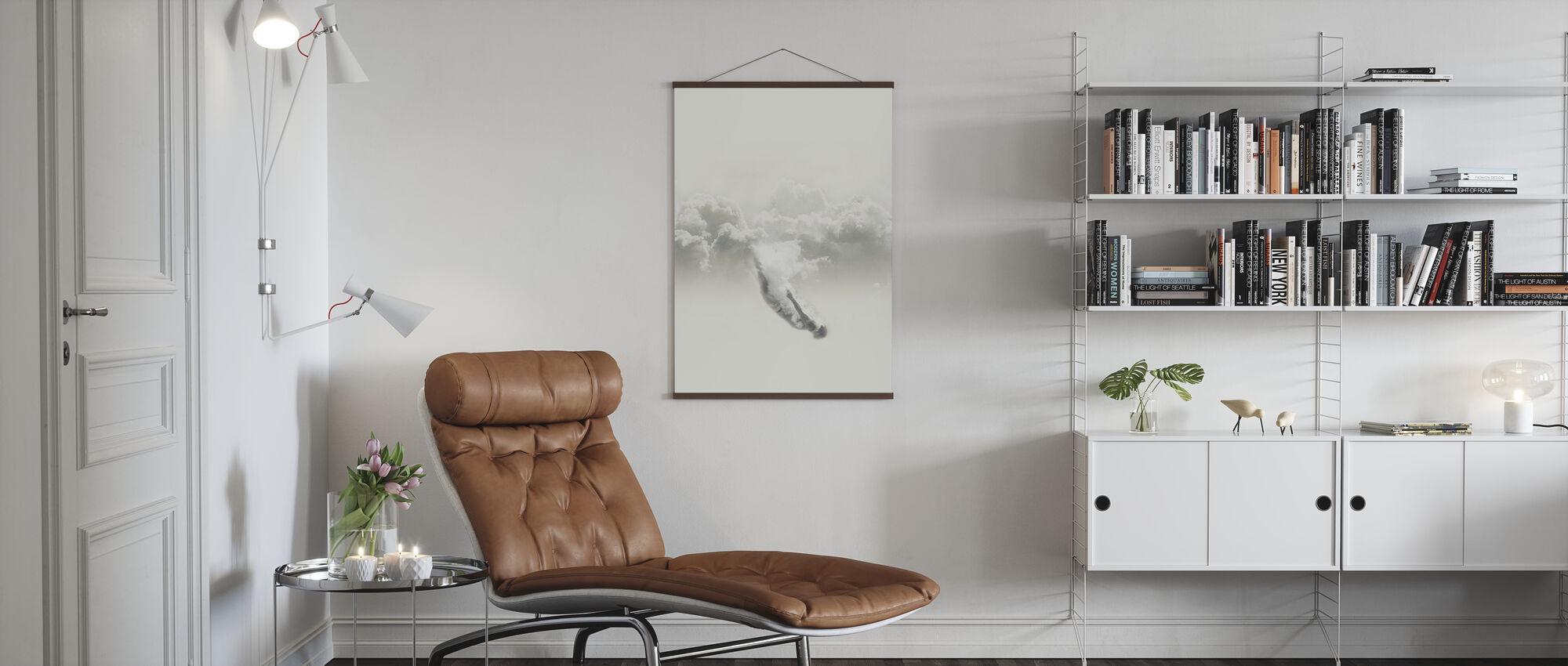Sky Diver - Poster - Wohnzimmer