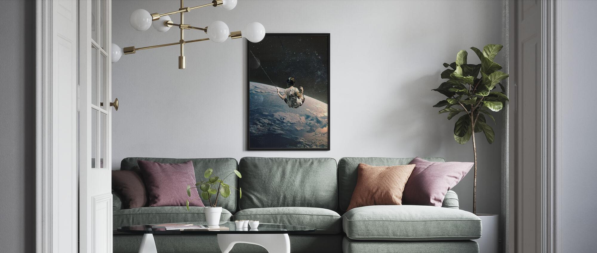 Keinu - Kehystetty kuva - Olohuone