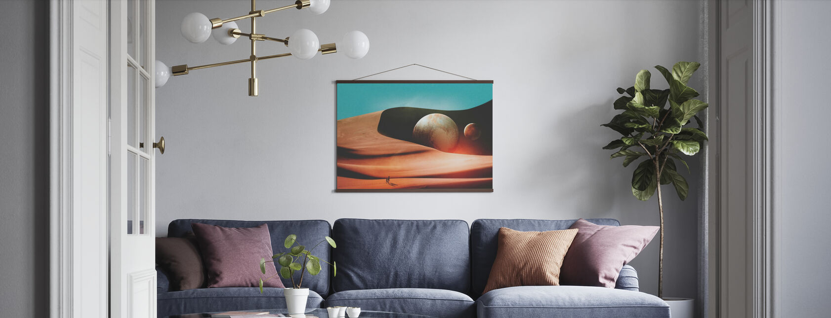 The Only Moment We Were Alone - Poster - Living Room