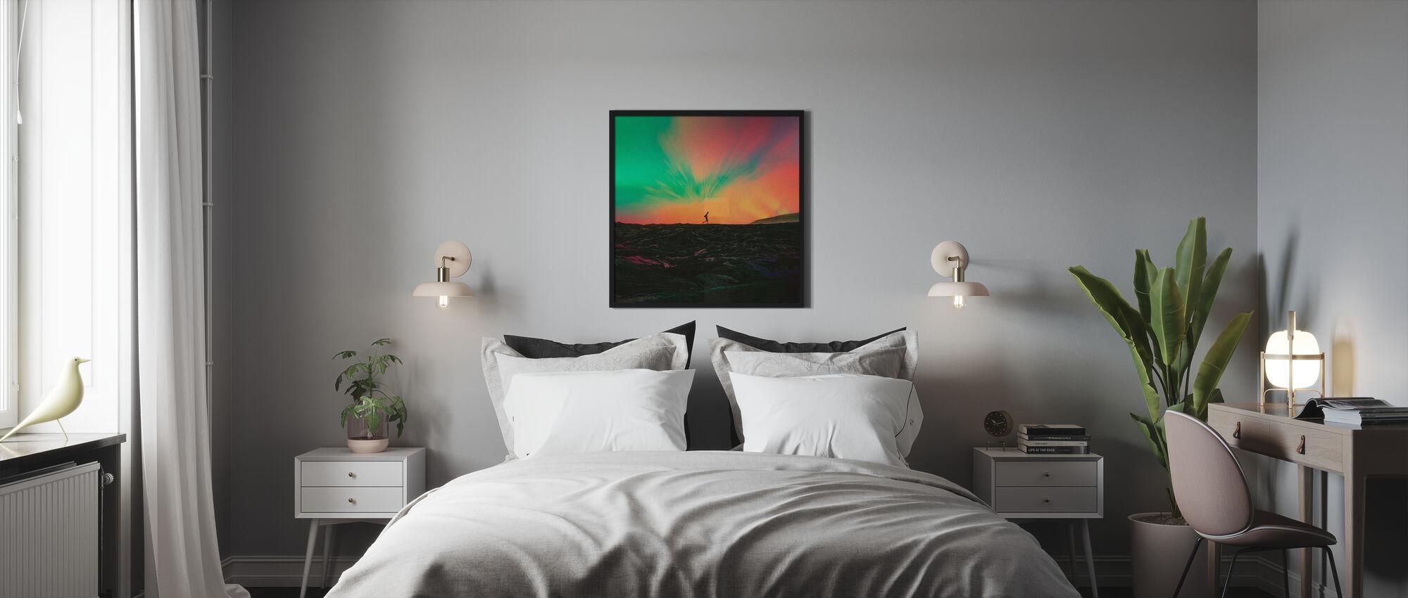 Viandante - Stampa incorniciata - Camera da letto