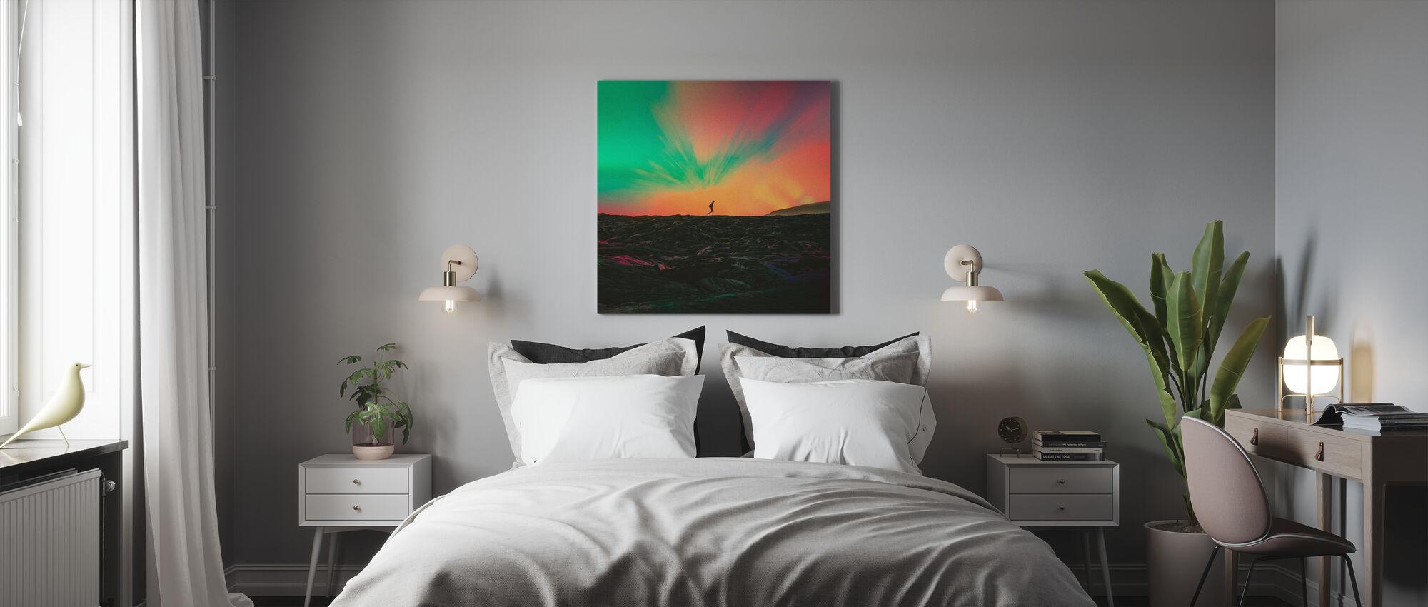 Zwerver - Canvas print - Slaapkamer